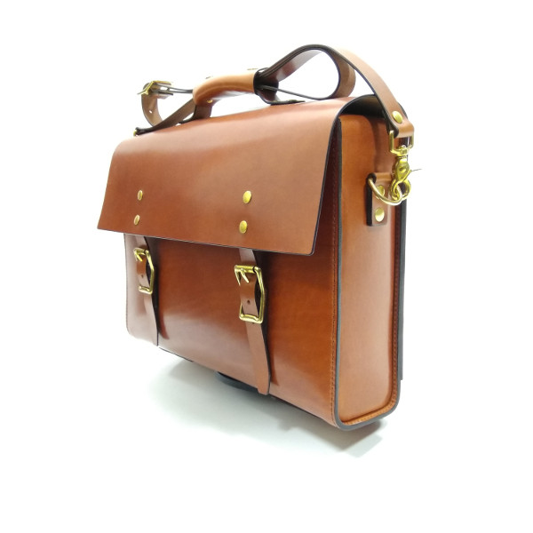 briefcase for Brompton bikes side view