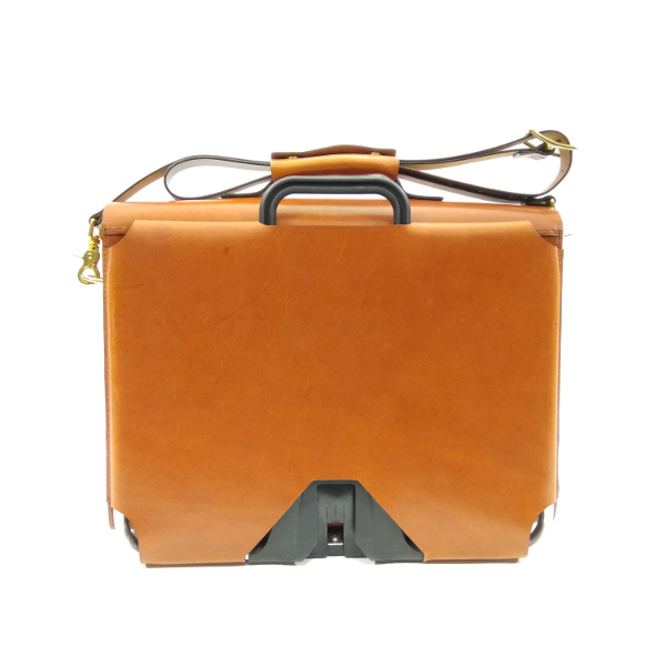 briefcase for Brompton bikes back view