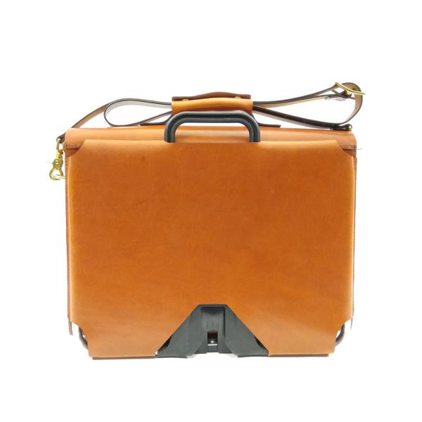 maletín compatible con bicicletas Brompton vista trasera