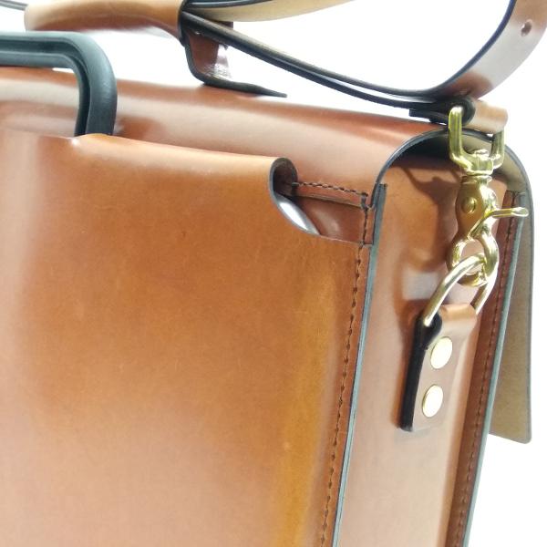 maletín compatible con bicicletas Brompton detalle trasera