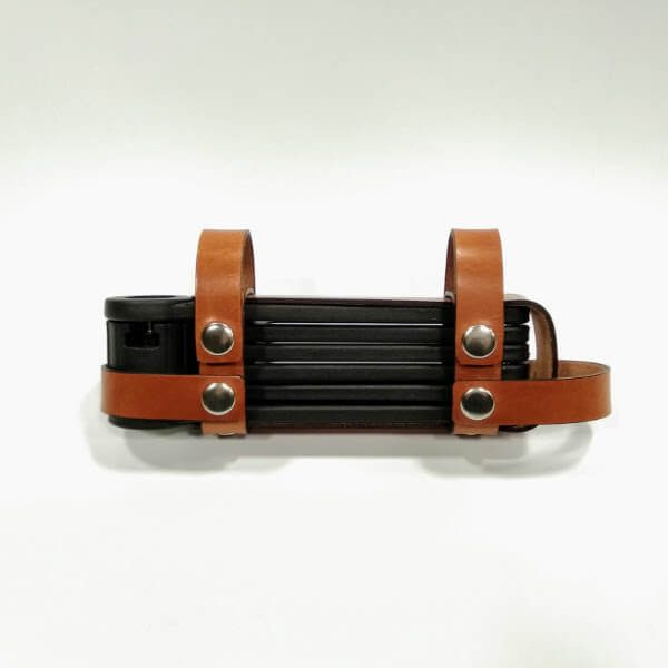 Folding lock cover and side lock