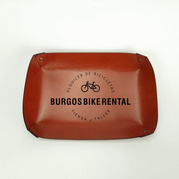 Vaciabolsillos personalizado Burgosbikerental