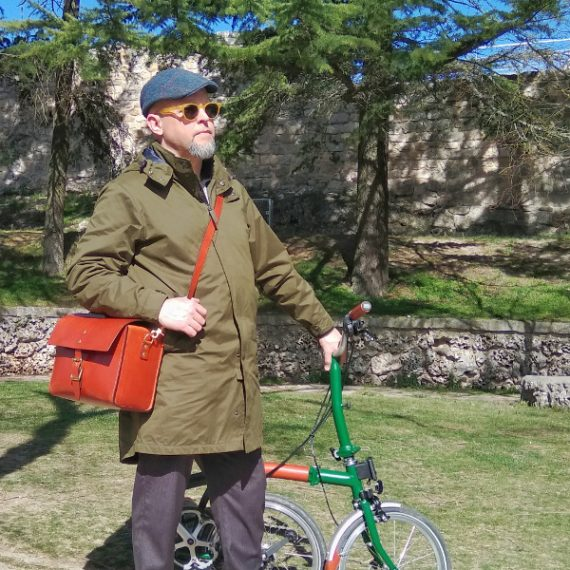 Brompton bike compatible bag