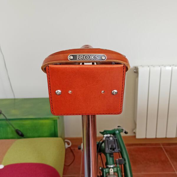 soporte para el sillín del bolso